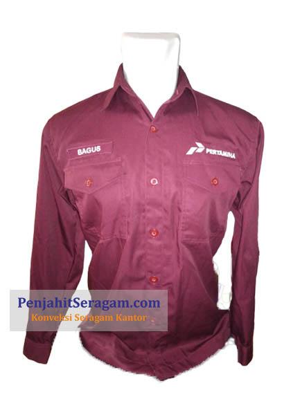 baju kerja pertamina
