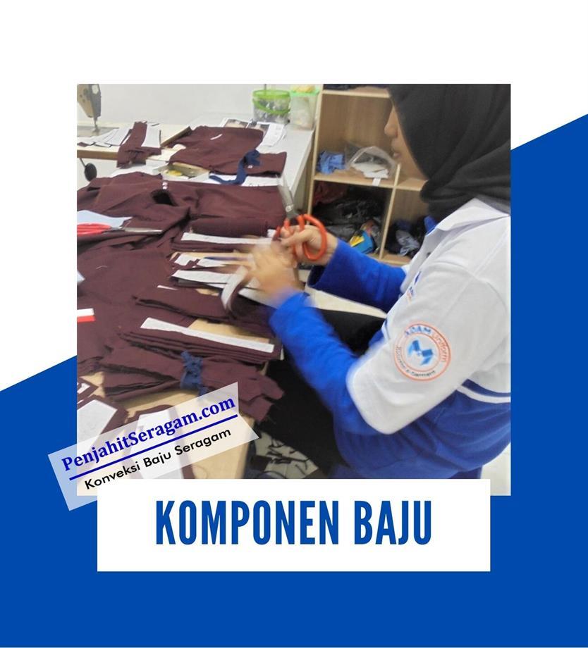 komponen baju kerja