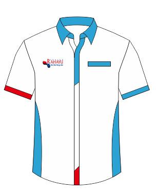 baju kantor putih