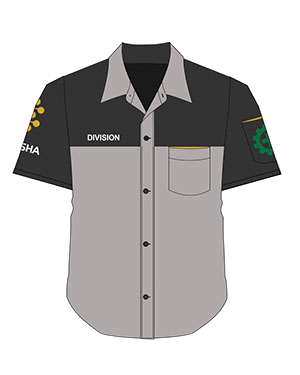 baju seragam kombi abu