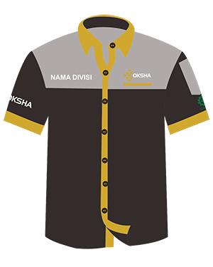 desain seragam hitam