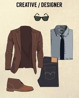 gaya pakaian desainer