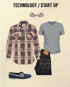 model pakaian kasual