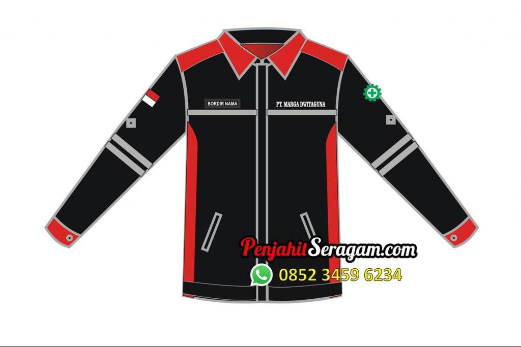 desain baju kerja lapangan